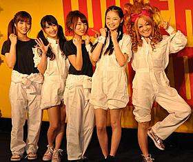 イベントに出席した(左から)加藤雅美、小原春香、 佐藤由加理、チェン・チュー、なちゅ