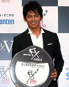 織田裕二20年ぶりに「キターッ!」