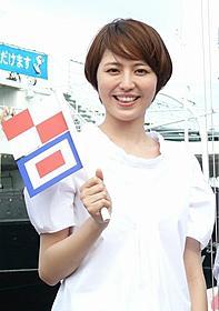 「コクリコ坂から」完成披露会見に出席した長澤まさみ「コクリコ坂から」