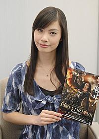 初主演でド派手なアクションシーンに挑んだ 原裕美子「ヘルドライバー」