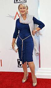 66歳のオスカー女優ヘレン・ミレン