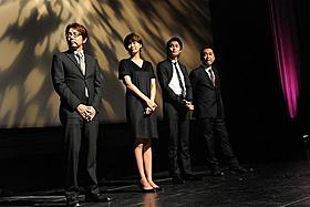 「アントキノイノチ」プレミア上映会の模様「アントキノイノチ」