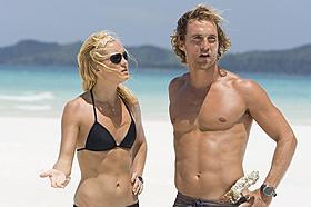 シャツレスといえばマコノヒー 「フールズ・ゴールド カリブ海に沈んだ恋の宝石」「テルマ&ルイーズ」