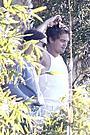 「ギャツビー」撮影中のディカプリオとT・マグワイアの2ショットをキャッチ