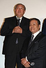西田敏行、的川泰宣教授とご対面「はやぶさ HAYABUSA」