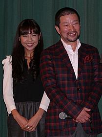 舞台挨拶に立った木村祐一と西方凌「オムライス」