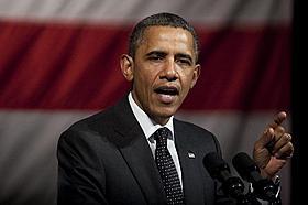 資金集めパーティーを開催したオバマ米大統領