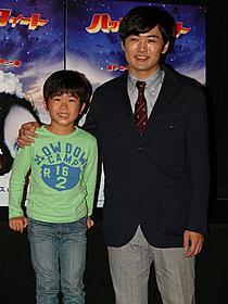 アフレコで親子役に挑戦した 鈴木福と劇団ひとり「ハッピー フィート」