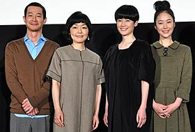 夫婦漫才を披露した小林聡美と加瀬亮ら「東京オアシス」