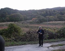 無人となった飯舘村を訪問したビム・ベンダース監督
