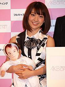 大島優子AKB48の公式プロバイダサービスをPR