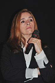 観客からの質問に耳を傾ける マリアン・デレオ監督「チェルノブイリ・ハート」