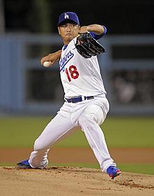 今年ドジャースでプレーしていた黒田博樹投手
