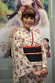 主演映画が初日を迎えた上原多香子「恋谷橋」