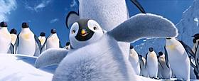 愛らしいペンギンが歌って踊る!「ハッピー フィート」