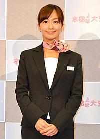 NHKドラマに主演する優香
