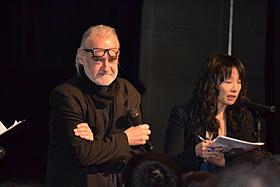 観客とのQ&Aに応じたタル・ベーラ監督「ニーチェの馬」