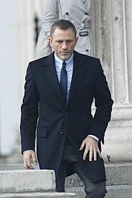 ロンドンで撮影中のダニエル・クレイグ