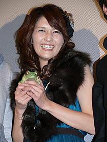 笑顔で舞台挨拶に登壇した吉井怜「寄性獣医・鈴音 EVOLUTION」
