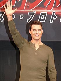 """日本で""""世界最速""""会見を行ったトム・クルーズ「ミッション:インポッシブル ゴースト・プロトコル」"""