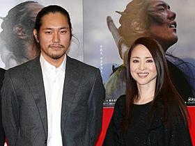 「平清盛」初回完成試写会に出席した松山ケンイチと松田聖子
