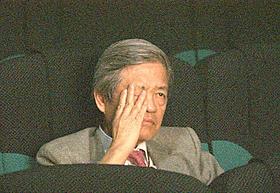 「フレンズ もののけ島のナキ」上映中に涙を流す田原総一朗氏「フレンズ もののけ島のナキ」