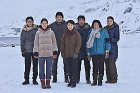 極寒の中、感動のクライマックスシーンを撮影!「北のカナリアたち」