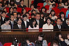 試写会に参加した秋篠宮ご一家「日本列島 いきものたちの物語」