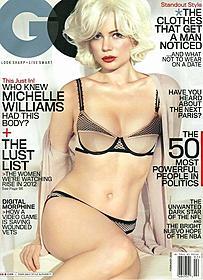 GQ表紙を飾ったミシェル・ウィリアムズ「マリリン 7日間の恋」