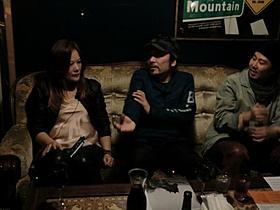 トークイベントを行った安齋肇と町山広美「ニーチェの馬」