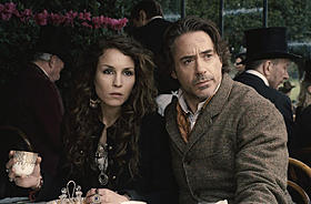 ハリウッド映画に初挑戦したノオミ・ラパス「シャーロック・ホームズ」