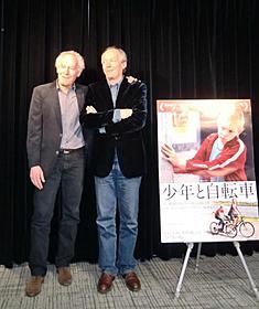来日会見を開いたダルデンヌ兄弟「少年と自転車」