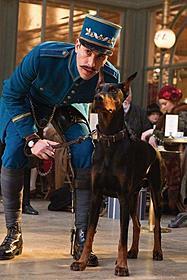 名番犬マクシミリアンを演じたブラッキー「ヒューゴの不思議な発明」