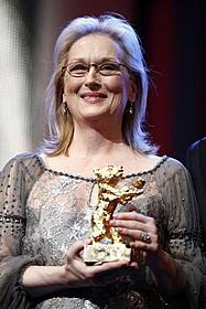 ベルリン栄誉金熊賞を授与されたメリル・ストリープ「マーガレット・サッチャー 鉄の女の涙」