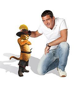 アントニオ・バンデラス、「シュレック」スピンオフで主人公に「長ぐつをはいたネコ」