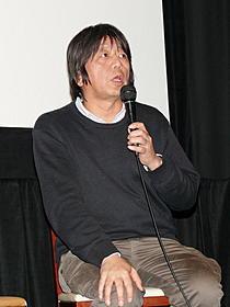 トークショーを行った森達也監督「「A」」