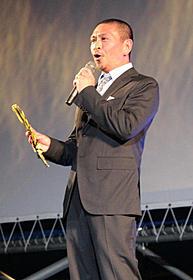 昨年、第64回ロカルノ国際映画祭に出席した松本人志監督「しんぼる」