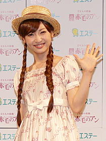 「赤毛のアン」主人公を演じる神田沙也加「赤毛のアン」