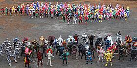 総勢485人の対決は圧巻「仮面ライダー×スーパー戦隊 スーパーヒーロー大戦」