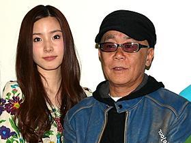 舞台挨拶に立った蓮佛美沙子と廣木隆一監督「ヴァイブレータ」