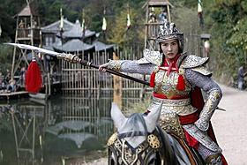 セシリア・チャン演じる怒りに燃える未亡人「女ドラゴンと怒りの未亡人軍団」
