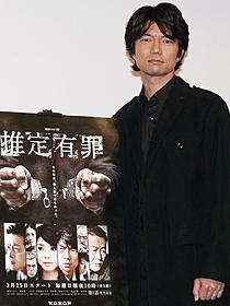 雑誌記者を演じた仲村トオル「空飛ぶタイヤ」