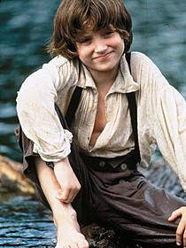 「ハックフィンの大冒険」(1993)でハックを演じた イライジャ・ウッド「ハックフィンの大冒険」