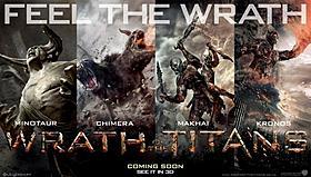 強大な力で人類に襲いかかるクリーチャーたち「タイタンの逆襲」
