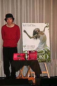 各映画祭で喝采を浴びている塚本晋也監督「KOTOKO」