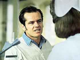 「カッコーの巣の上で」で主演したジャック・ニコルソン「カッコーの巣の上で」