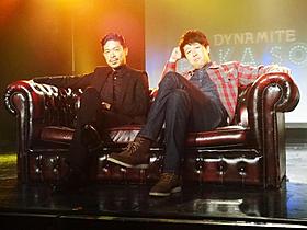 MCを務める「EXILE」のMATSUと小籔千豊