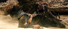 圧倒的な力でペルセウスに襲いかかるキメラ「タイタンの逆襲」