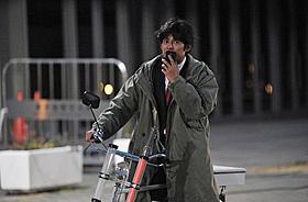何日もかけて撮影された自転車をこぐシーン「踊る大捜査線 THE FINAL 新たなる希望」