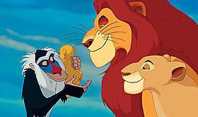 1位に選ばれた「ライオン・キング」「ライオン・キング」